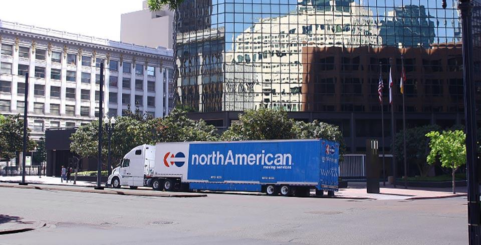 moving van office