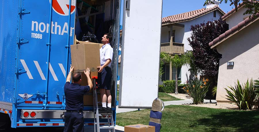 northamerican unloading